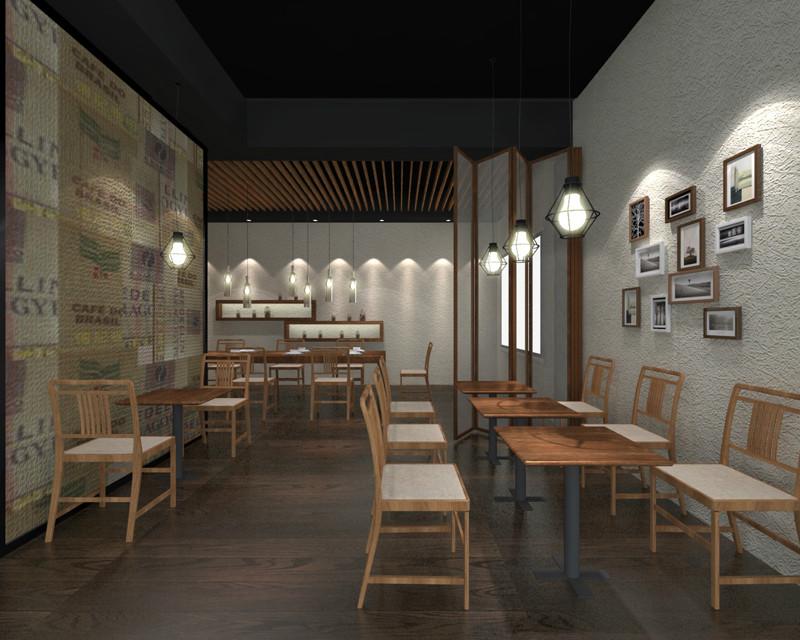 咖啡店装修设计效果图
