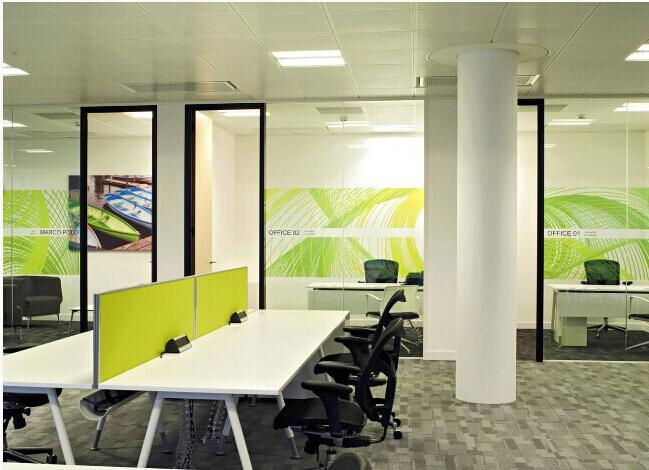 科技公司办公室装修效果图