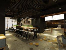 上海西餐厅装修效果图