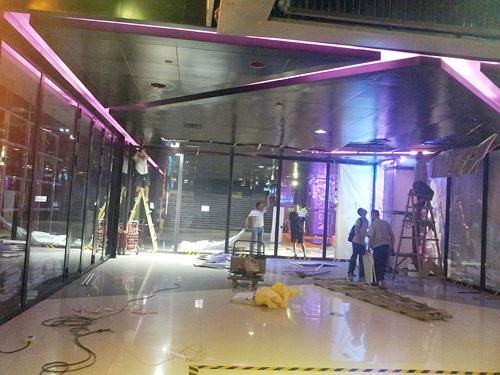 上海商铺装修工地