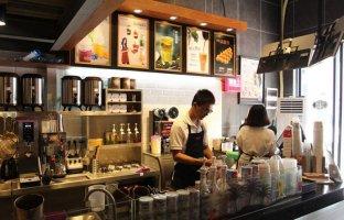 咖啡店空间装修吧台建议