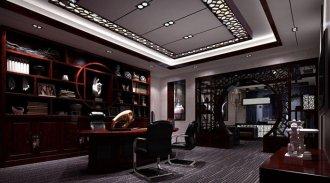总经理办公室空间装修设计