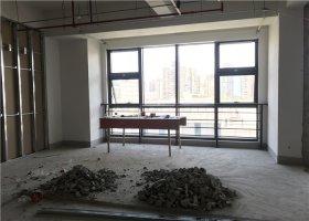 普天信息产业园办公室装修现场