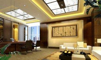 上海办公室装修中灯具选择研究