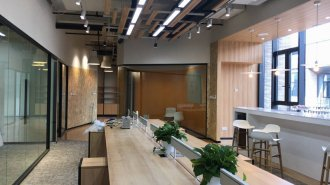 上海办公室设计之办公室装饰灯具选购的小技巧
