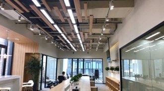上海办公室装修设计之接待室设计