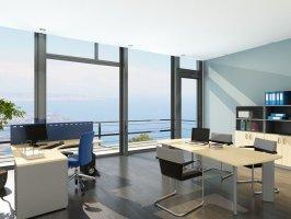 办公室装修|办公桌朝向的风水讲究