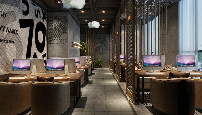 上海网吧装修的六大注意事项