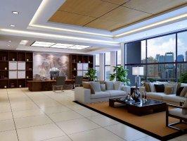 高档上海办公室装修设计材料常用做法