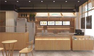 上海奶茶店装修,要做就做不一样的奶茶店