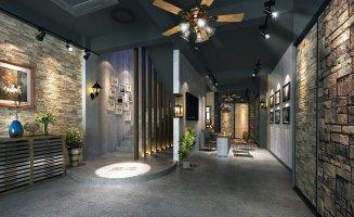 上海商业空间设计中纯粹的素轻透