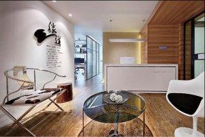 上海胜道广告设计公司办公室装修实景图