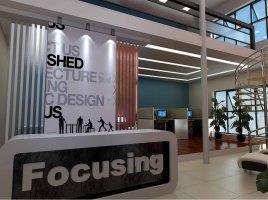 上海Focusing高端大气办公室装修设计